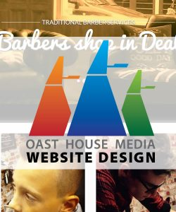 oast house media website design for deal barbers